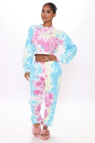 WOMEN Change With The Seasons Tie-Dye Joggers - Multi Color
