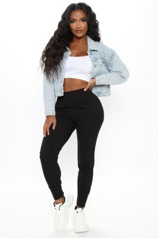 WOMEN The New Look Joggers - Black