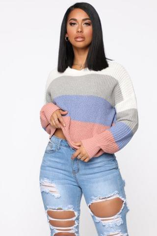 WOMEN On The Way Sweater - Ivory/combo