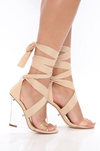 WOMEN Clearly Your Type Wedge - Nude