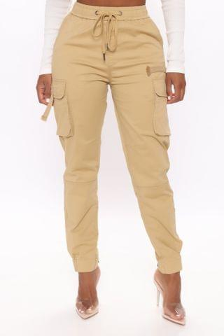WOMEN Everything You're Not Cargo Pant - Khaki