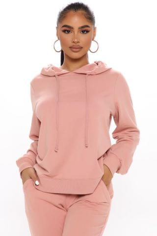 WOMEN The New Look Hoodie - Mauve