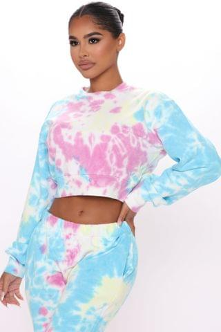 WOMEN Change With The Seasons Tie-Dye Pullover - Multi Color
