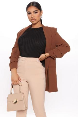 WOMEN The Celine Blazer - Brown