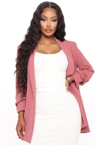WOMEN The Celine Blazer - Mauve