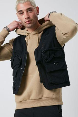 MEN Zip-Up Utility Vest