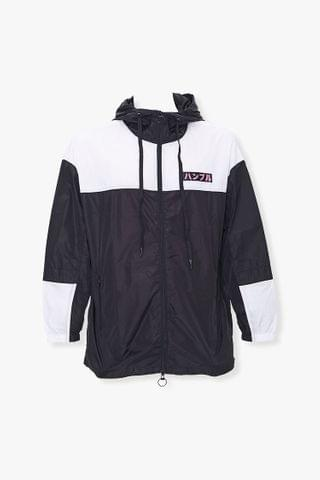 MEN New World Order Graphic Windbreaker