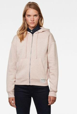 WOMEN Premium Core Hooded Zip Through Sweater