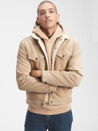 MEN Icon Corduroy Sherpa Jacket