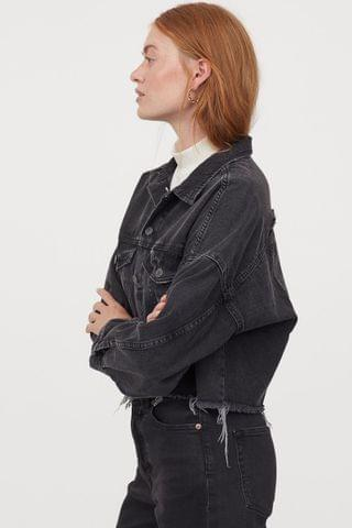 WOMEN Boxy Denim Jacket