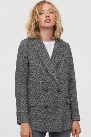 WOMEN Double-breasted Jacket