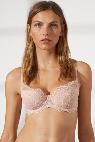 WOMEN Padded Underwire Lace Bra