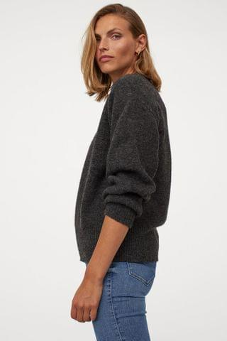 WOMEN Fine-knit Sweater