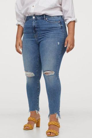 WOMEN H&M+ Skinny High Ankle Jeans