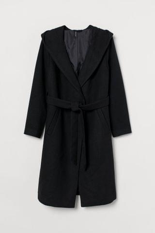 WOMEN H&M+ Hooded Coat