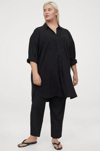 WOMEN H&M+ Lyocell Tunic