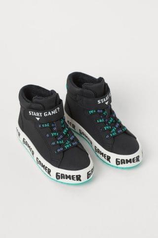 KIDS Faux Shearling-lined High Tops