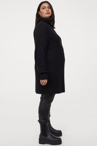 WOMEN H&M+ Knit Turtleneck Dress