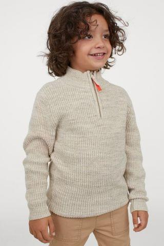 KIDS Ribbed Cotton Sweater