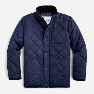 KIDS Boys' quilted field jacket