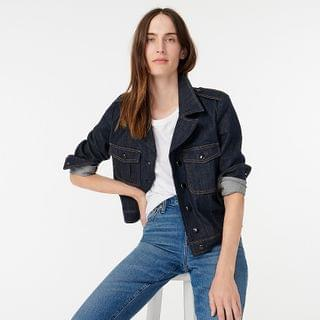 WOMEN Denim lady jacket in Stay Navy wash