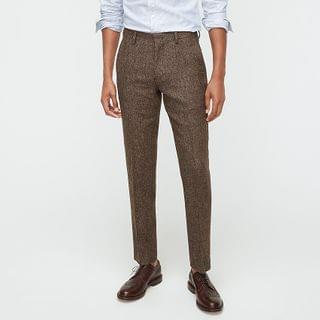 MEN Ludlow Slim-fit unstructured suit pant in English wool