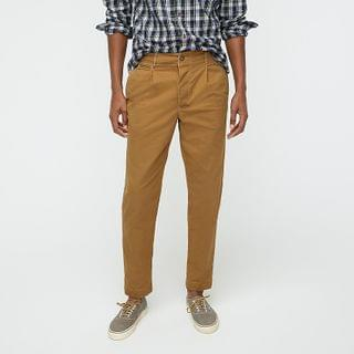 MEN Wallace & Barnes pleated military officer's chino pant