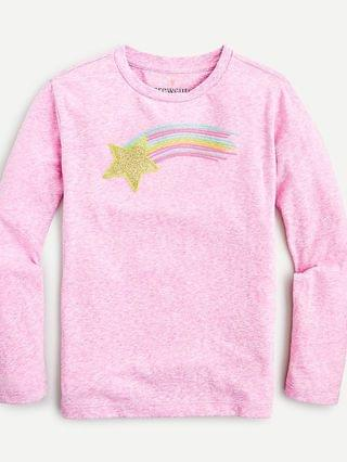 KIDS Girls' shooting star T-shirt