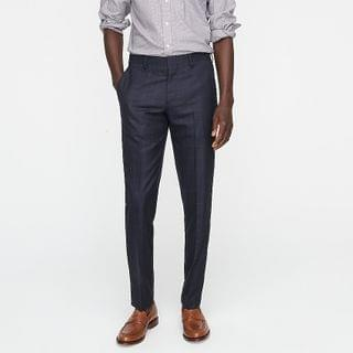 MEN Ludlow Slim-fit suit pant in Italian basketweave wool