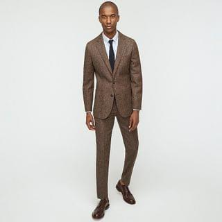 MEN Ludlow Slim-fit unstructured patch-pocket suit jacket in English wool