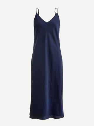 WOMEN Bias-cut slip dress