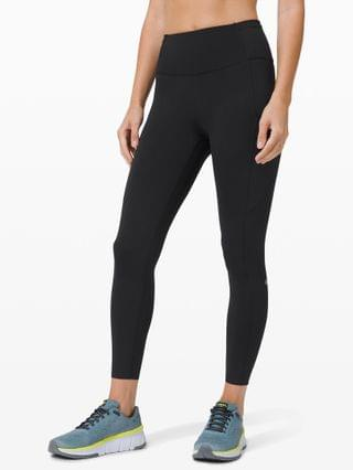 """WOMEN Fast and Free Tight II 25"""" Non-Reflective Nulux"""