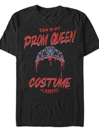 MEN Carrie Prom Queen Costume Men's Short Sleeve T-shirt