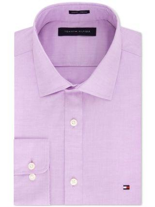 MEN Men's Slim-Fit Stretch Solid Dress Shirt, Online Exclusive Created for Macy's