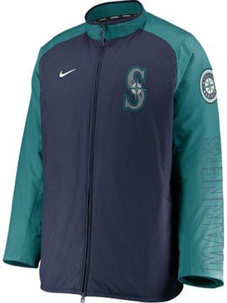 MEN Men's Seattle Mariners Authentic Collection Dugout Jacket