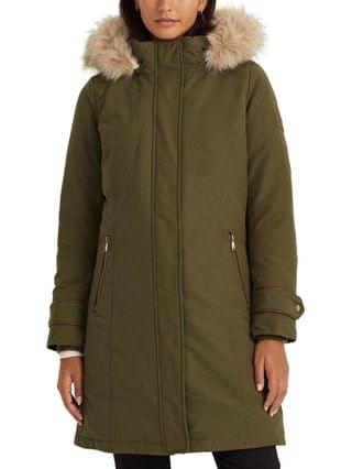 WOMEN Hooded Expedition Down Coat