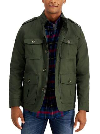 MEN Men's Four-Pocket Utility Jacket, Created for Macy's