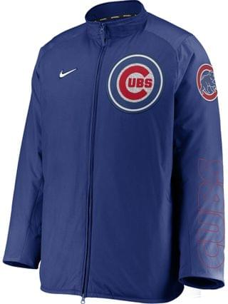 MEN Men's Chicago Cubs Authentic Collection Dugout Jacket