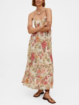 WOMEN Women's Floral Print Long Dress