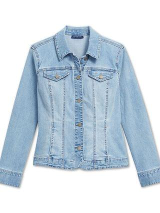 WOMEN Button-Up Denim Jacket, Created for Macy's