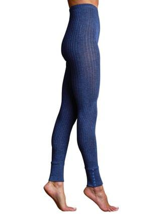 WOMEN Powder Coated Silk Footless Tight
