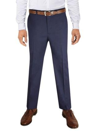 MEN Men's Classic-Fit Stretch Solid Suit Pant, Created for Macy's
