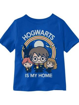KIDS Little Boys Hogwarts is My Home Graphic T-shirt