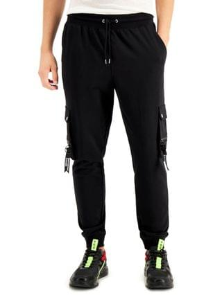 MEN INC Men's Edward Knitted Cargo Jogger Pants, Created for Macy's