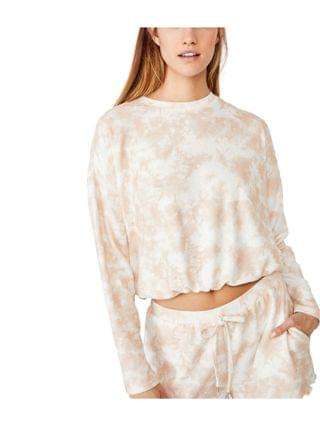 WOMEN Supersoft Draw Cord Lounge Top, Online Only
