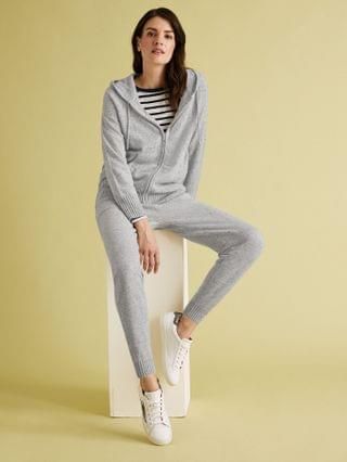 WOMEN Pure Cashmere Textured Joggers