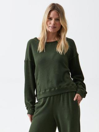 WOMEN Ezra Cropped Sweatshirt