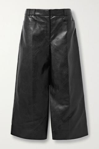 WOMEN STELLA MCCARTNEY Charlotte vegetarian leather culottes