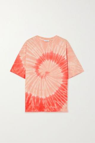WOMEN NINETY PERCENT + NET SUSTAIN oversized tie-dyed organic cotton-jersey T-shirt