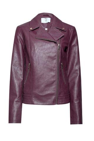 WOMEN Dorothy Perkins Tall Faux Leather Biker Jacket
